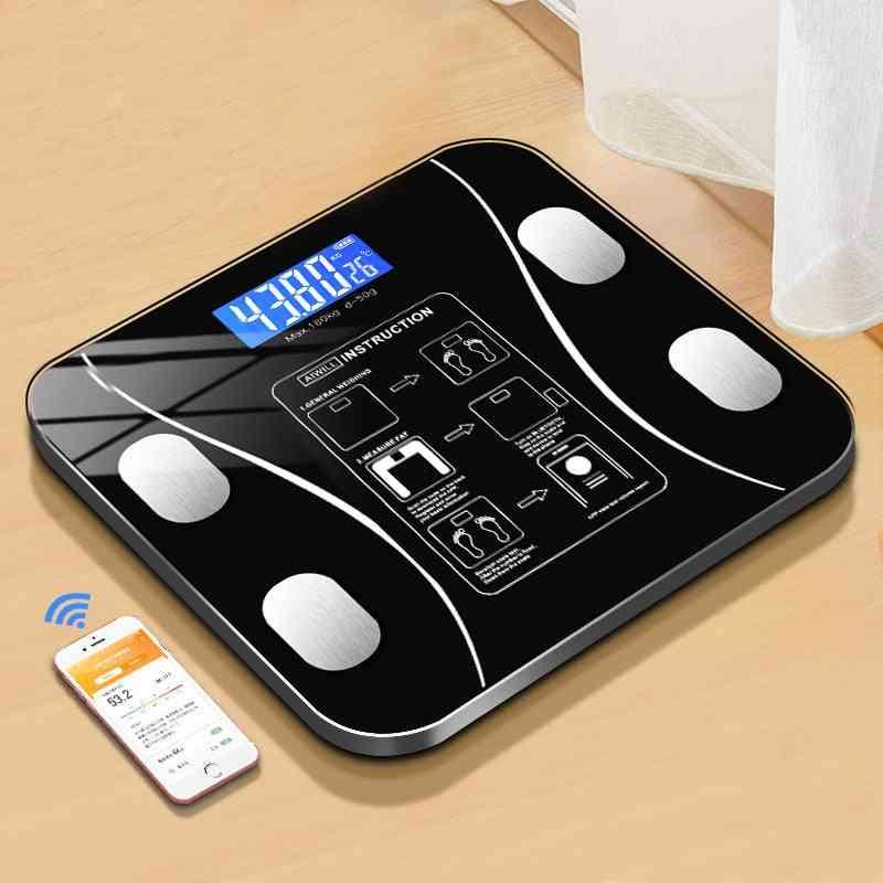 Digital, Wireless Smart-body Fat Scale- Weight Analyzer