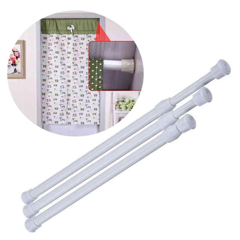 Adjustable Curtain Rod, Metal Extendable Shower - Telescopic Poles