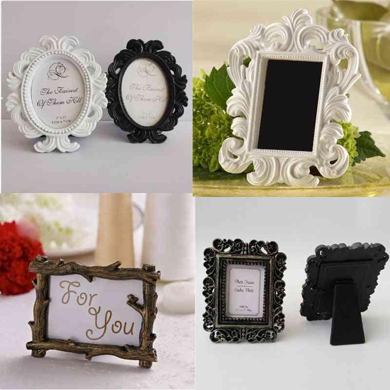 Retro Photo Frame For Wedding Party, Family Home Decor
