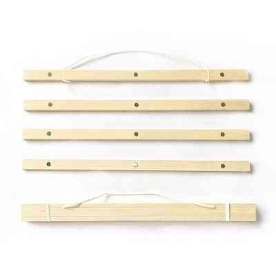 Natural Magnetic Wooden Frame Wall Hanger