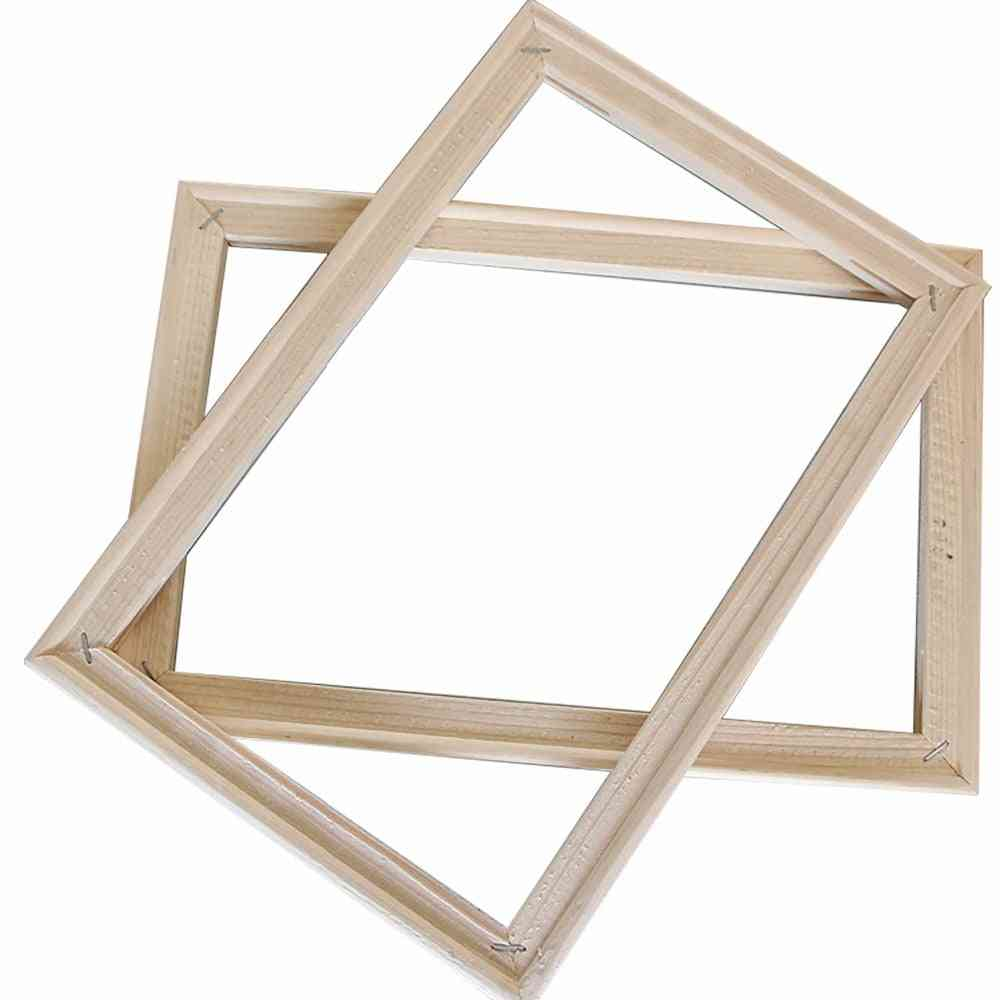 Simple Wooden Diy Picture Frames Art Suitable For Home Decor, Digital Oil Painting, Diamond Paintings
