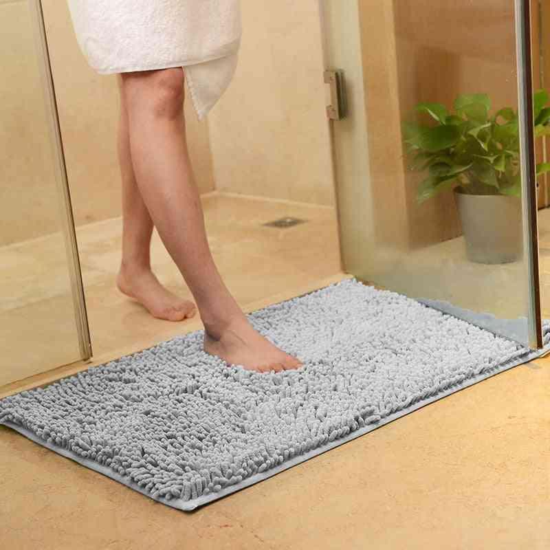 Non-slip Bath Mat Bathroom Carpet, Tapis Salle De Bain, Mat In The Bathroom Comfortable Bath Pad, Large Size Bedroom Bathroom Rugs