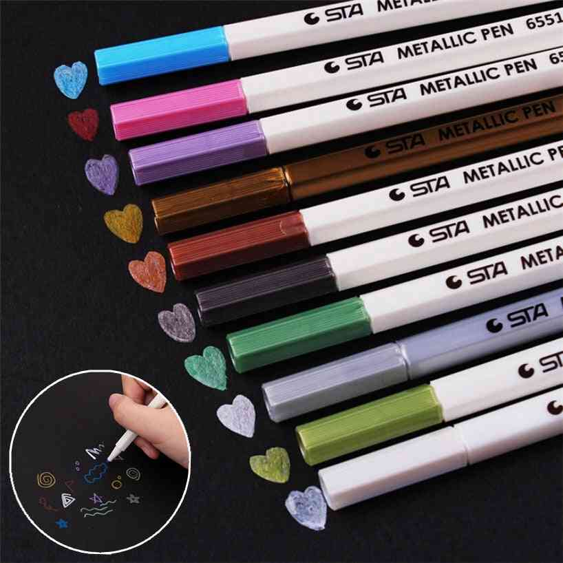 Diy Cute Watercolor Gel Pen/marker Pen For Wedding Photo Album Scrapbooking