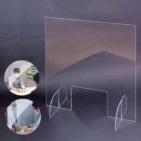 Clear Acrylic Sneeze Guard Shield Protection Backsplash