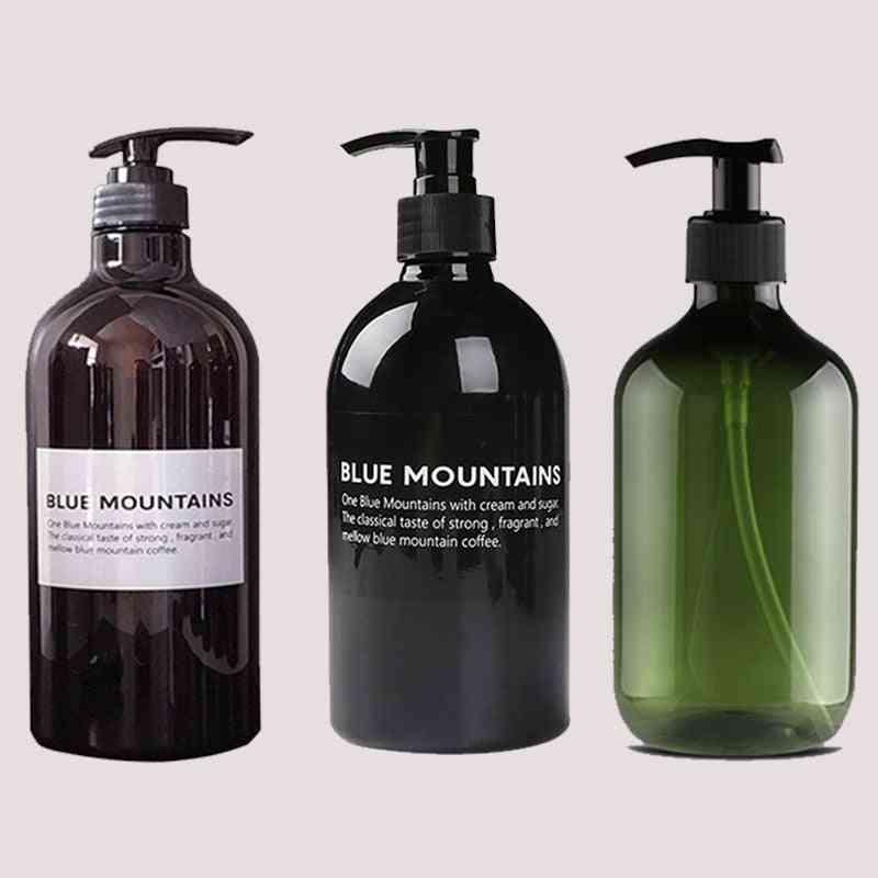Empty Pressure Bottle For Shower Gel, Shampoo, Bath Body Conditioner, Dispenser Soap