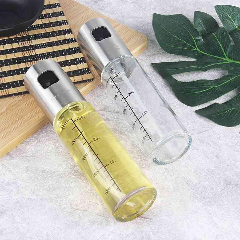 Leakproof, Stainless Steel-oil Sprayer Bottle For Kitchen Use