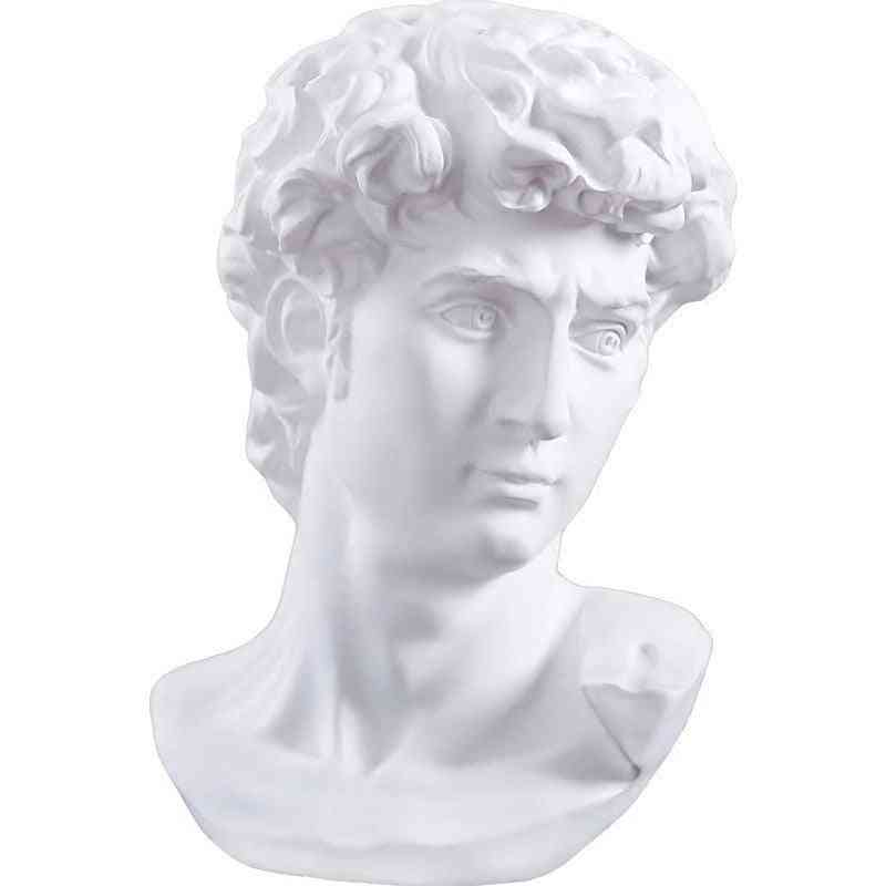 David Statue 15cm Head Portraits