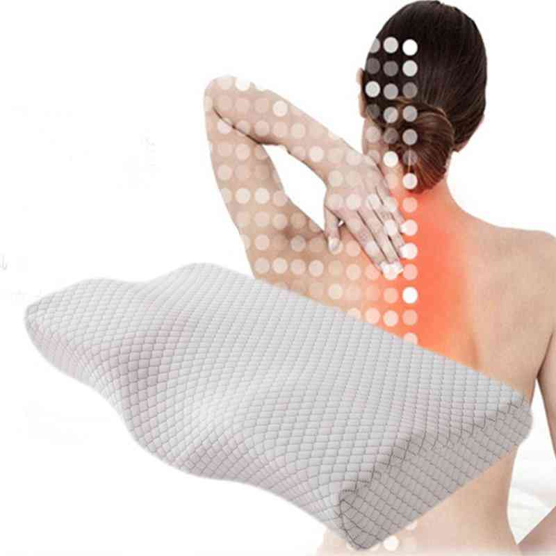 Orthopedic Memory Foam Pillow-relax Neck Pain And Cervical Issues