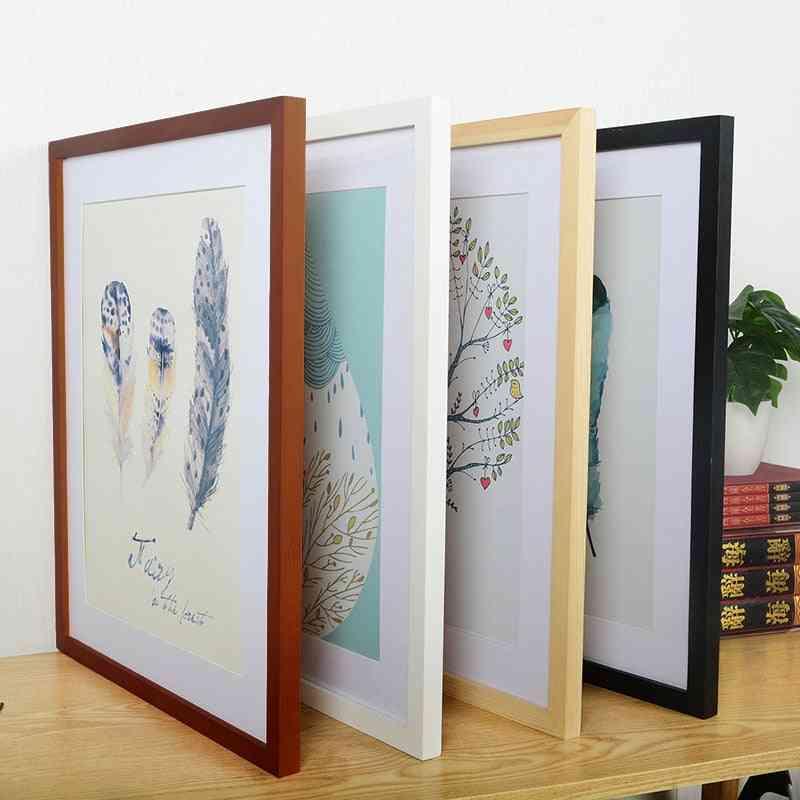 Modern Wooden Frames For Wall Art