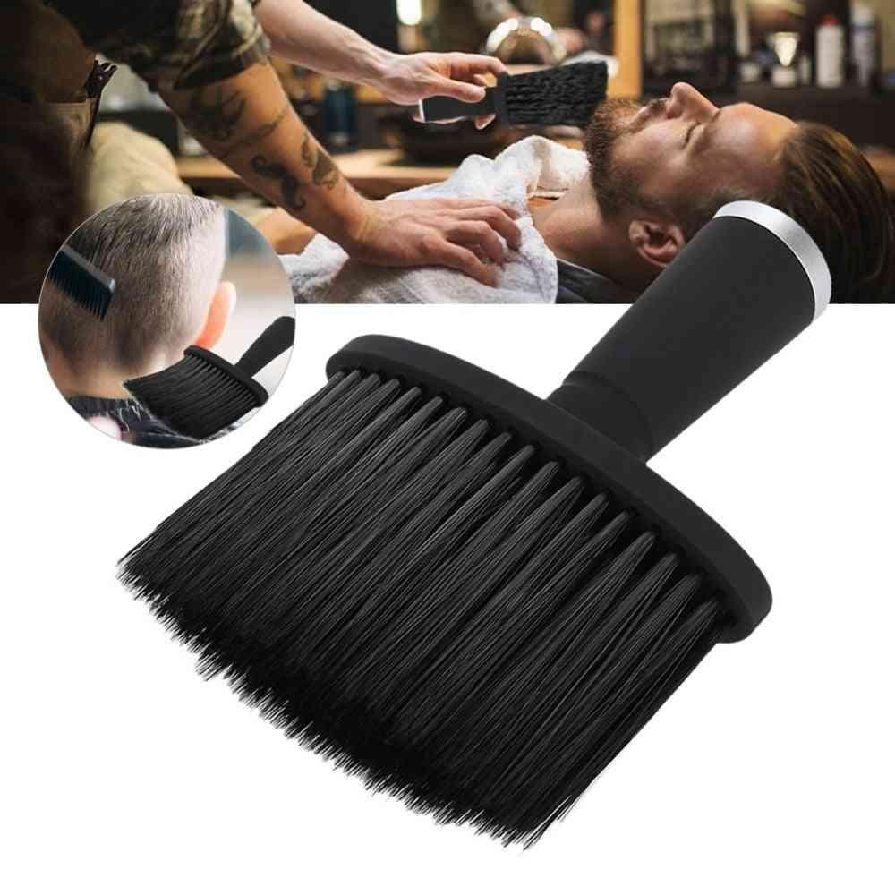 Soft Hair Brush For Neck ,face - Duster Hairdressing, Hair Cutting ,cleaning Brush For Barber Salon