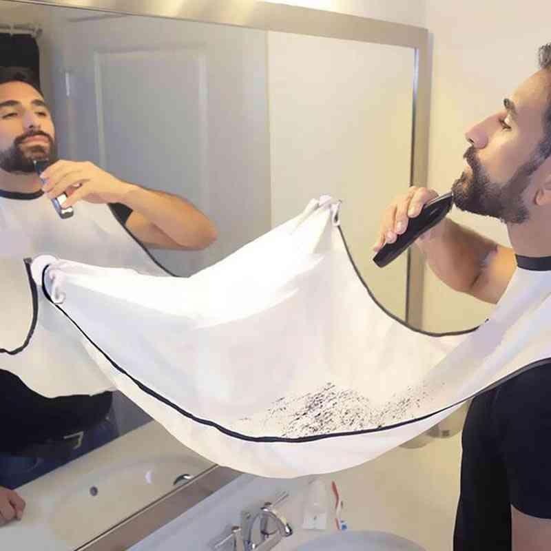 Man Beard Cutting / Shaving Cape Apron