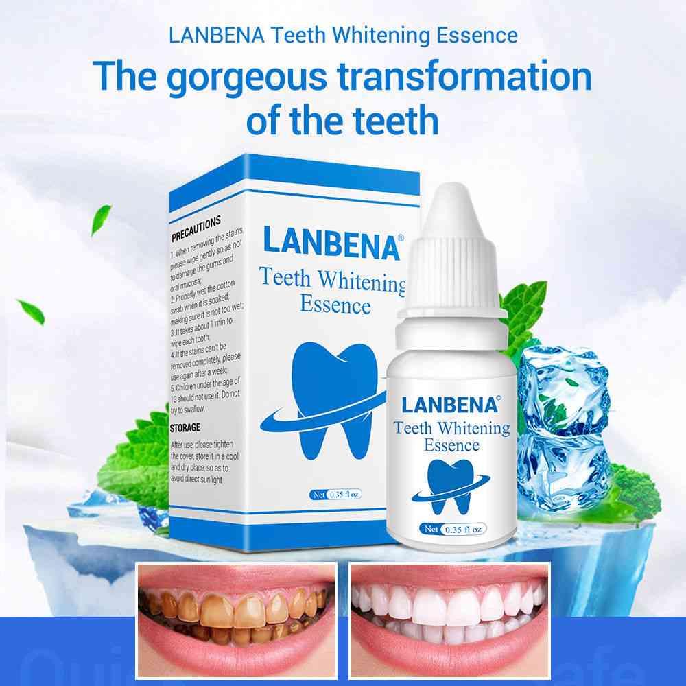 Teeth Whitening Essence Liquid Oral Hygiene Cleaning Remove Plaque Stain Brighten Tooth Whitening Oral Hygiene
