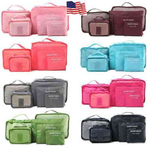 Waterproof Clothes Storage Luggage Organizer Pouch Bags For Travel