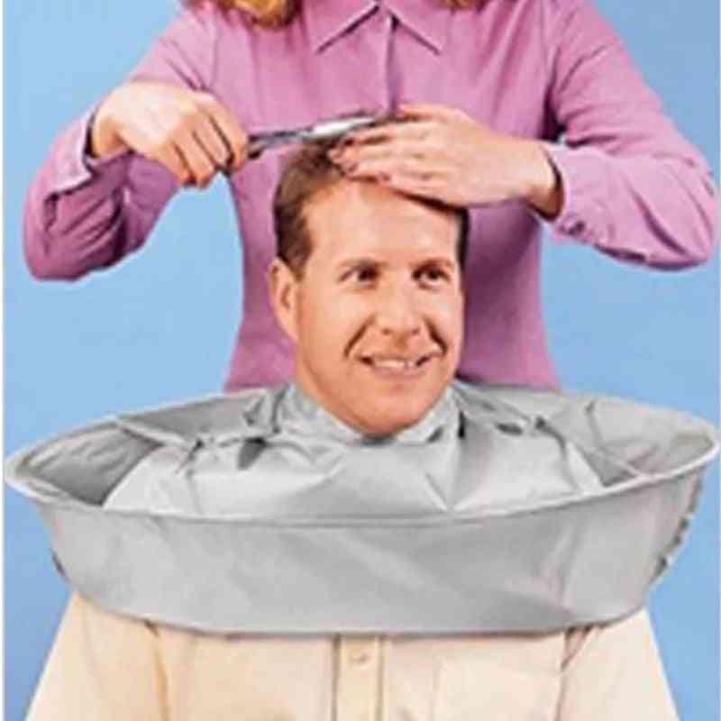 Creative Diy Apron Hair Cutting Coat Cloak Hair Barber Salon Stylists Umbrella Cape Cutting Cloak Household Cleaning Protector