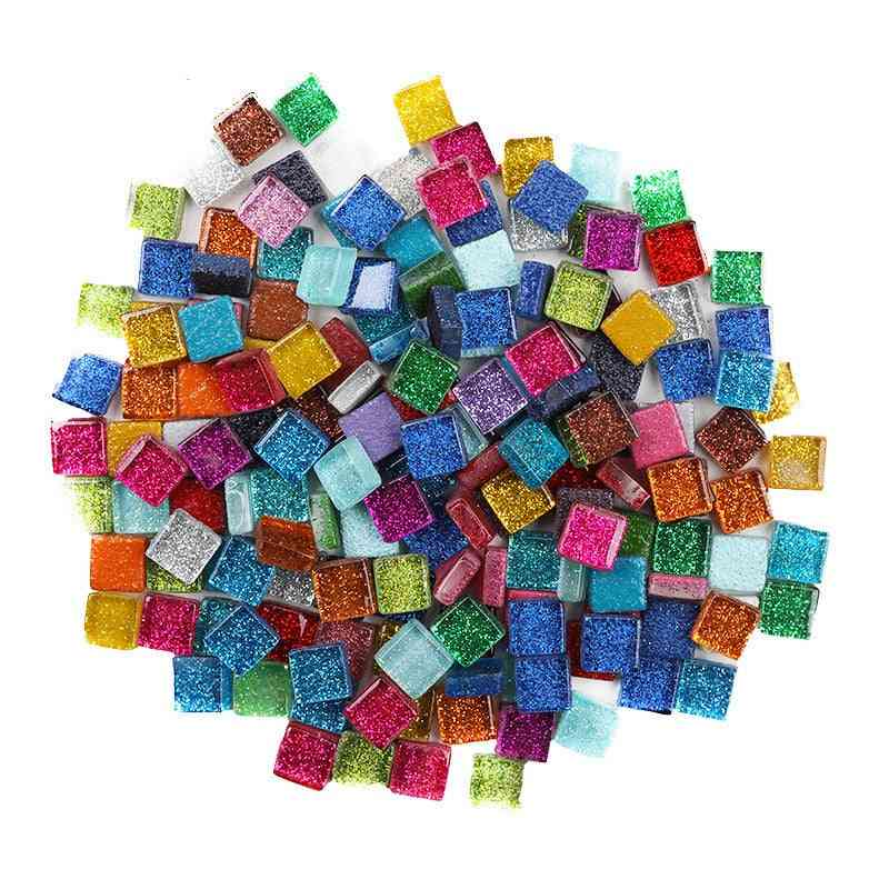 Multi Color Square Sequin Diyglitter Shiny Crystal Mosaic Tiles - Craft Making Materials