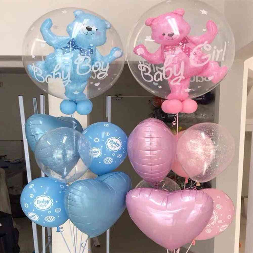 Large Helium Balloons For Boy / Girl - Baby Shower Decoration