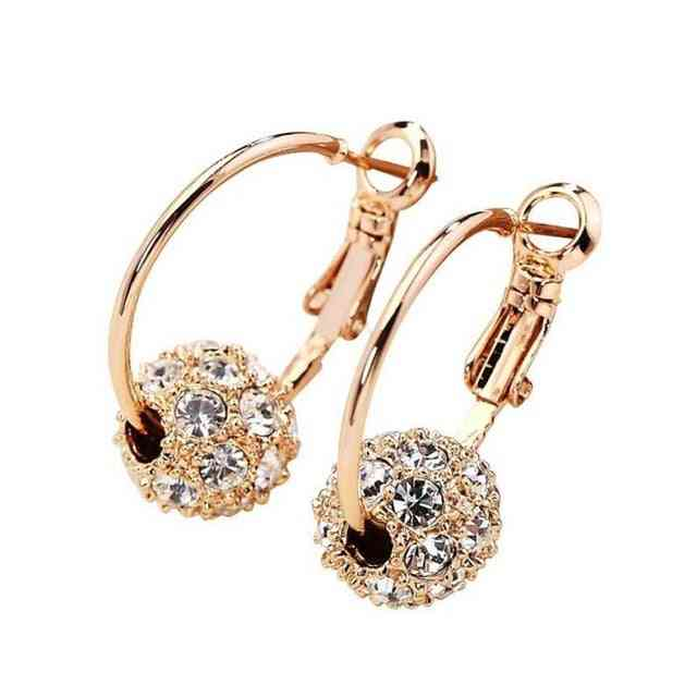 Magnetic Slimming Earrings Lose Weight Body Relaxation Massage