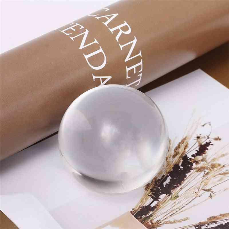 Quartz Glass Transparent Crystal Ball