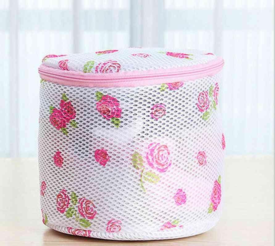 1pcs 150x150mm Clothes Washing Machine Laundry Bags Bra Aid Hosiery Shirt Sock Lingerie Saver Mesh Net Wash Bag Pouch Basket laundry Bags