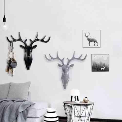 Creative Deer Head Hook Model-wall Decoration
