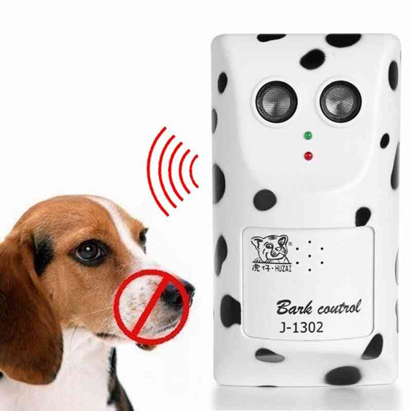 Bark Stop Dog Ultrasonic Anti Barking Device Dogs Device Pet Trainer Bark Control Training Device For Dogs