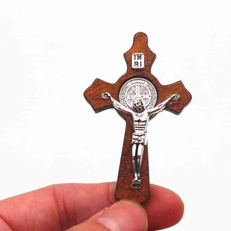 Christian Wood Cross Inri Orthodox