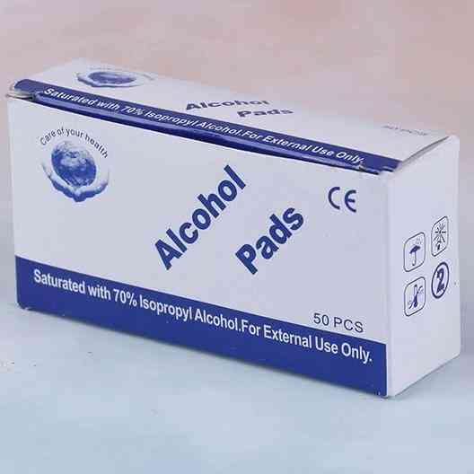 Alcohol Wet Wipes - First Aid Home Skin Cleanser