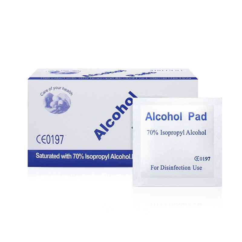 Prep Swap Pad Wet Wipe For Antiseptic Skin Cleaning Care, Jewelry, Mobile Phone Clean