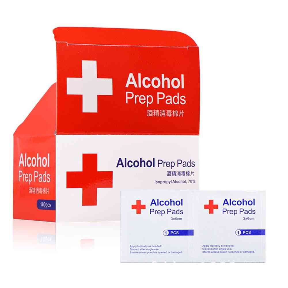 Alcohol Prep Swap Pad - Wet Wipe For Antiseptic Skin Cleaning Care