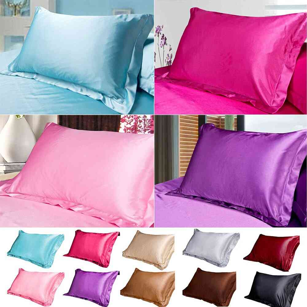 Pure Emulation Silk Satin Comfortable Single Cover For Bed