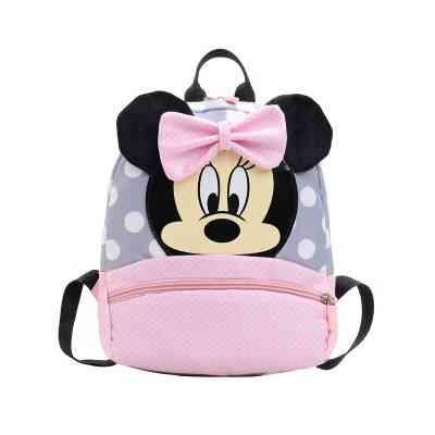 Kindergarten Schoolbag Boy, Mickey Mouse Cute Cartoon Travel Backpack