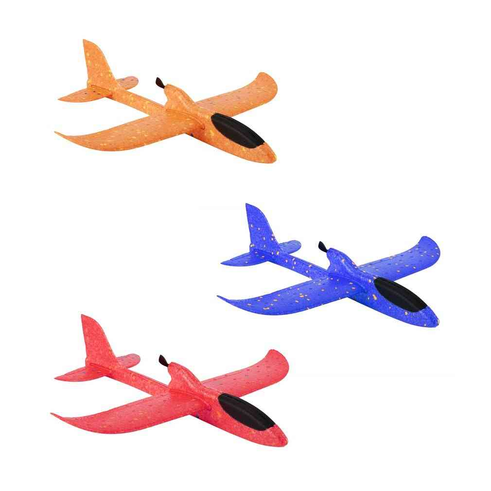 Electric Assisted Glider Foam Powered Flying Plane - Rechargeable Electric Aircraft Model Educational For