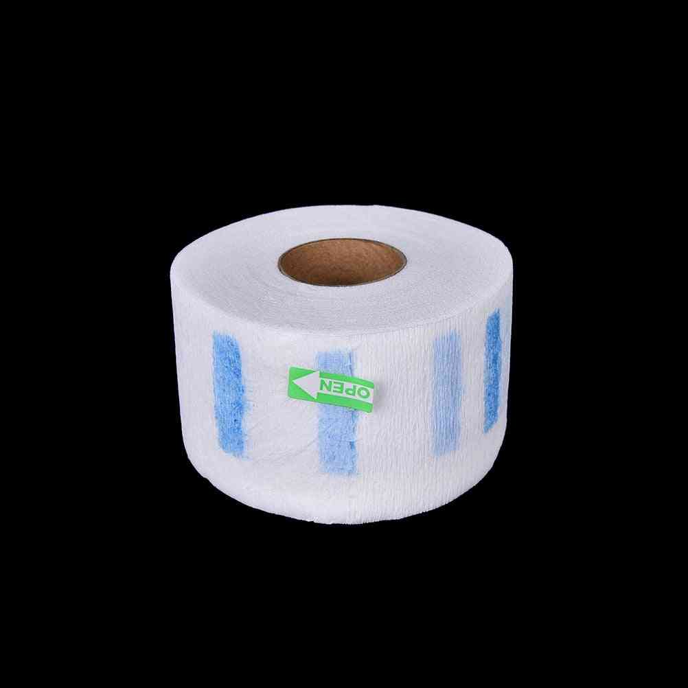 Roll Paper Disposable - Muffler Paper Hair Cutting Accessory