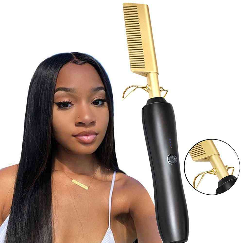 Titanium Alloy, Hair Styling-electric Heating Comb
