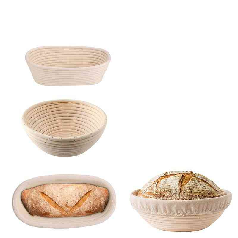 Hot Bread Fermentation Rattan - Dough Baskets, Storage Container