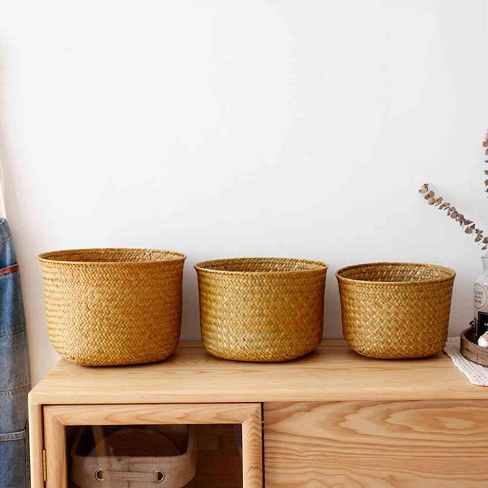 Nordic Style Hand Woven Storage Basket