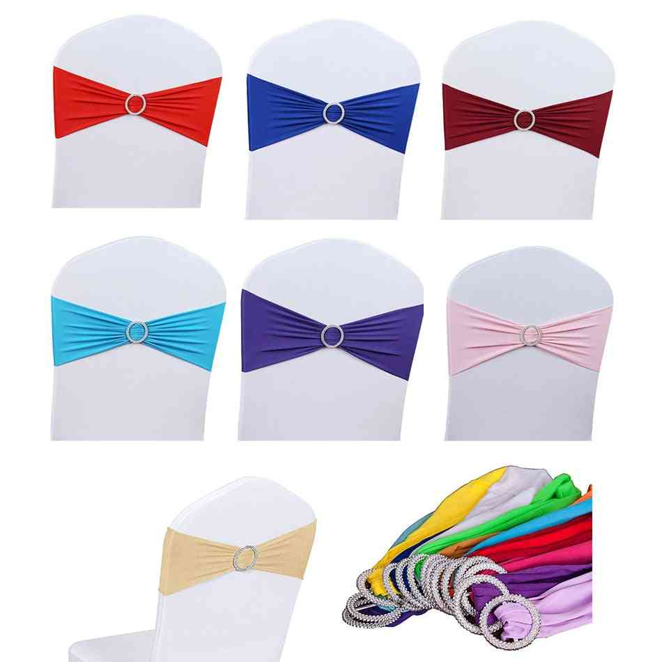High Quality Chair Sashes, Wedding Chair Knot, Cover Decoration, Bow Tie Belt