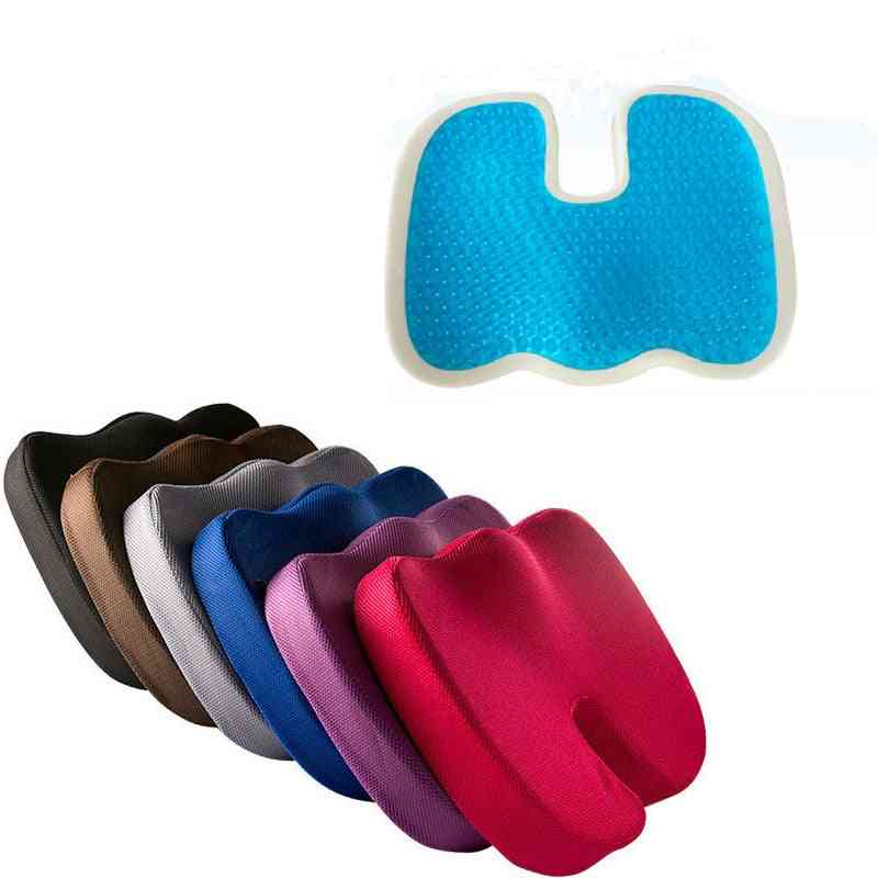 New Gel Seat Cushion For Office - Soft, Comfort, Thicken Upholstery Memory Foam For Sofa