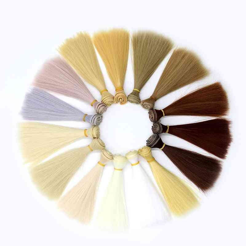 Straight Doll Hair For 1/3, 1/4, 1/6 - Doll Accessories