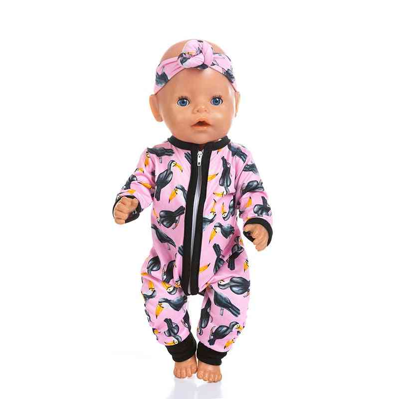 Jumpsuits Fit For 43cm Classy Baby Doll Clothes