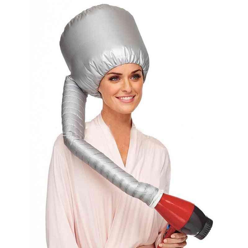 Portable Hair Dryer Diffuser Bonnet - Electric Cap
