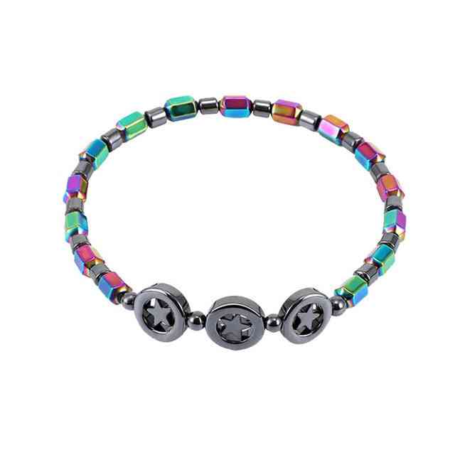 Weight Loss Bracelet - Round Beads Stretch Bracelet And Women Fat Loss