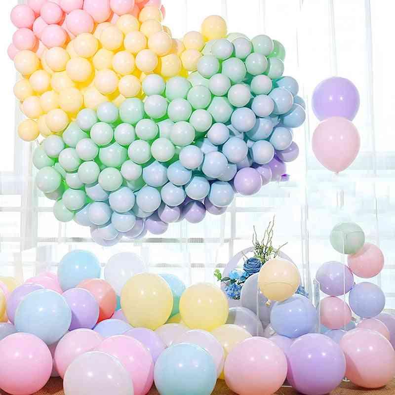 Macaron Latex Pastel Candy Balloon - Baby Shower Decor