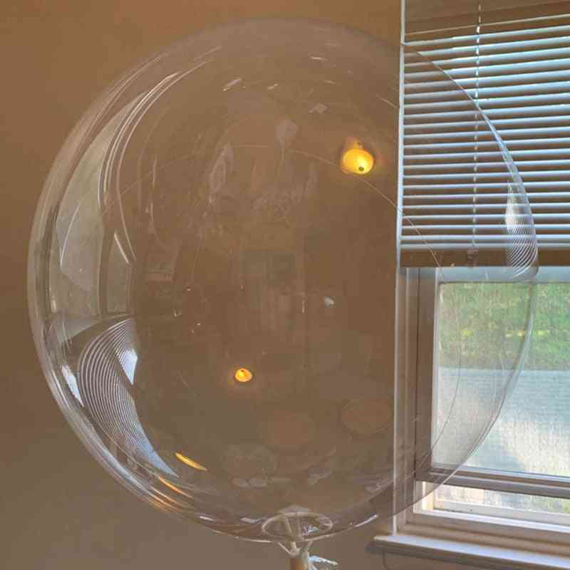 Transparent Globes Clear Balloon - Baby Shower Decoration