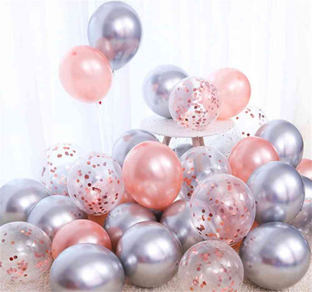 Matte Helium Balloons Set