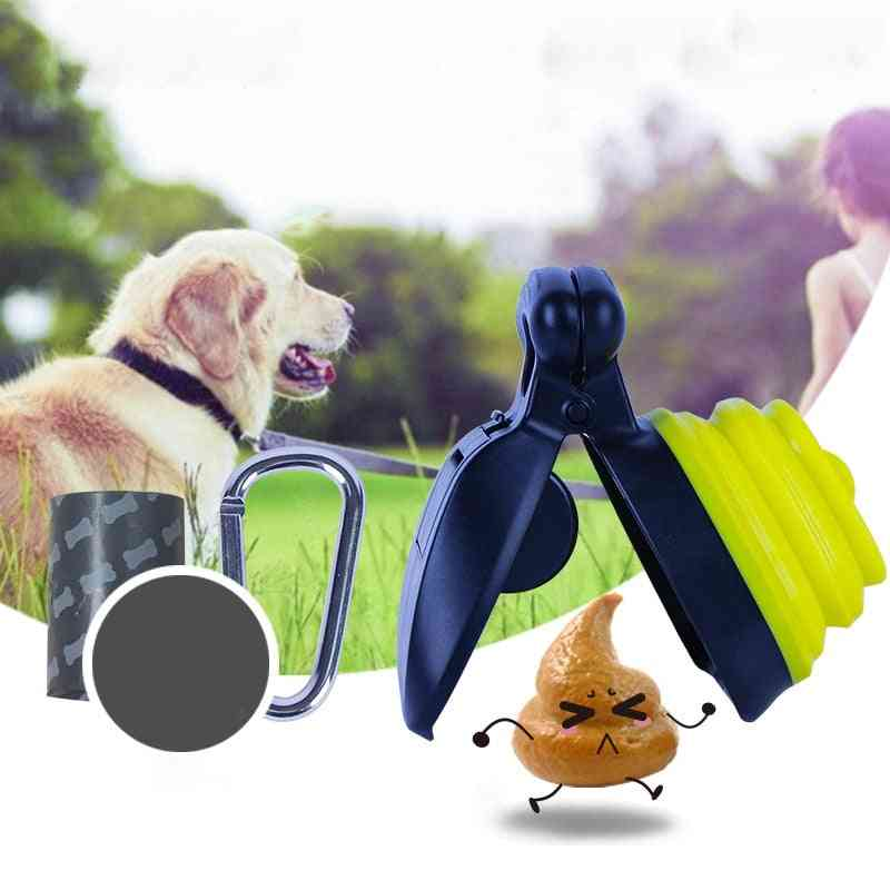 Portable Folding Waste Poop Scooper - Toilet Picker Cleaning Tools For Outdoor