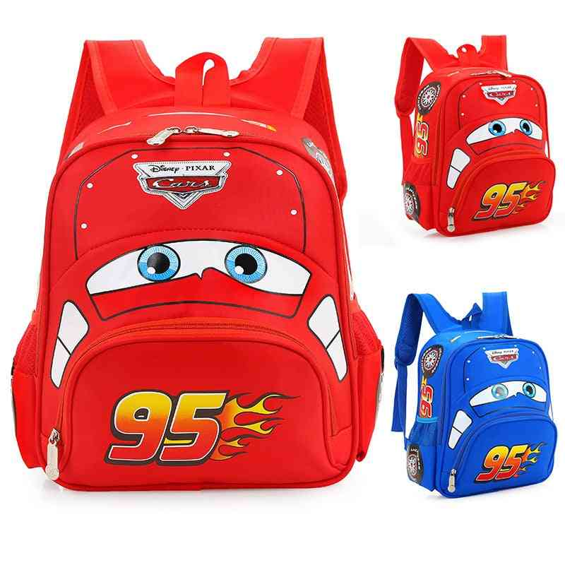 Plush Car Children's Bag - Kindergarten Baby Safety Backpack For Primary School Students 3 - 6 Years Old