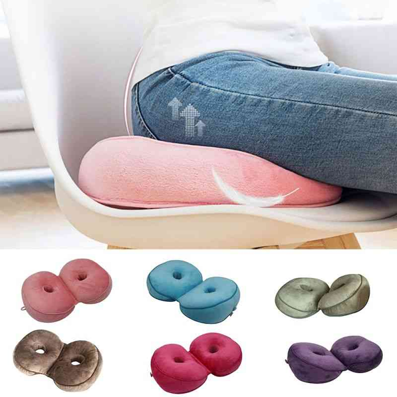Multifunction, Dual Comfort - Folding Pillow For Car Seat, Home And Office Use