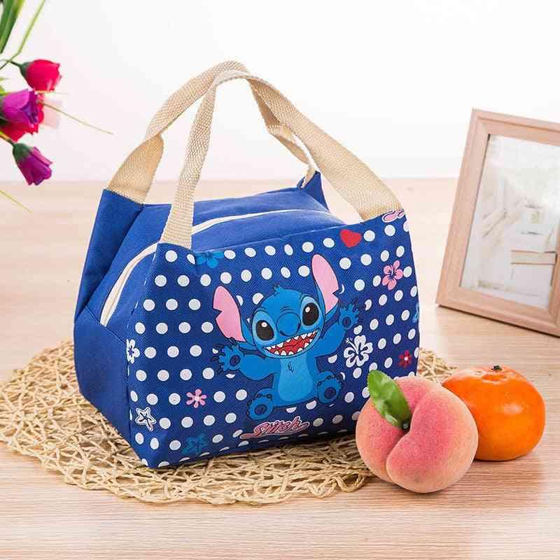 Disney Cartoon Insulation Bag With Stitch Box