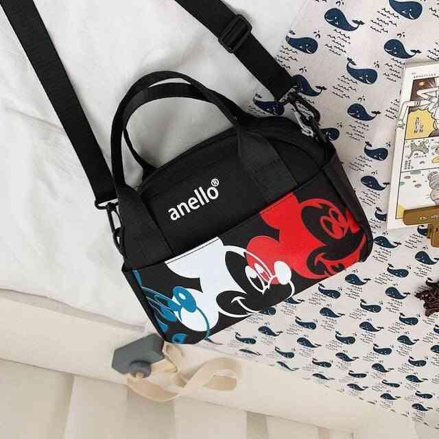 Disney Mickey Mouse Women/ Men Shoulder Messenger Bag - Travel Bag With High Capacity